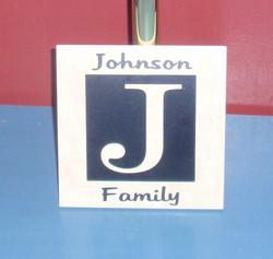 Initial tile J
