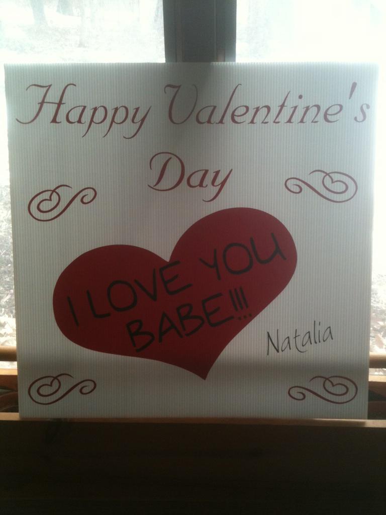 Valentine Sign