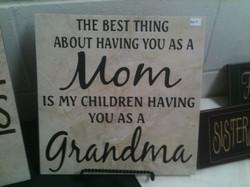 12x12 Mom and Grandma