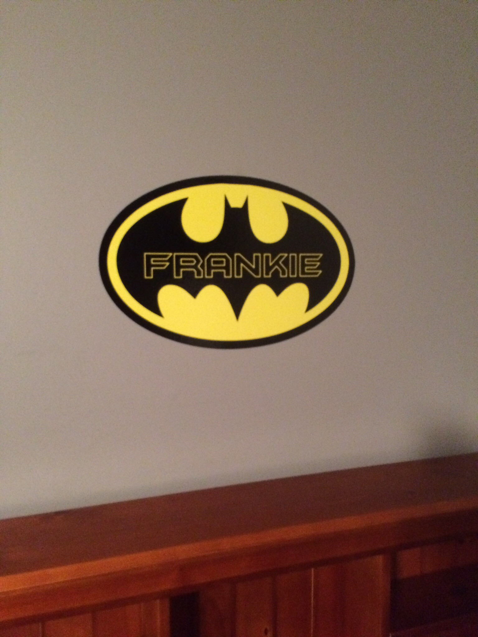 Superhero Wall Name