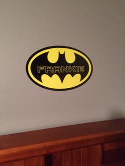 Superhero Wall Name