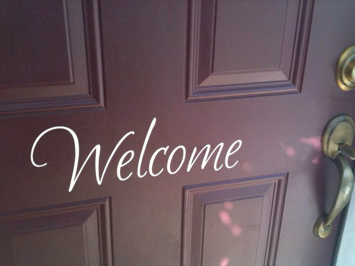 Front Door Welcome