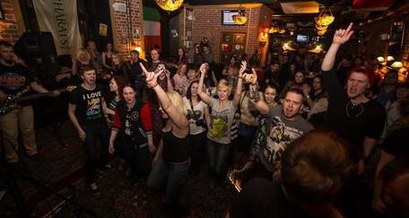 Вечеринка рок-группы