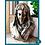 Thumbnail: Petit buste Vierge - métal