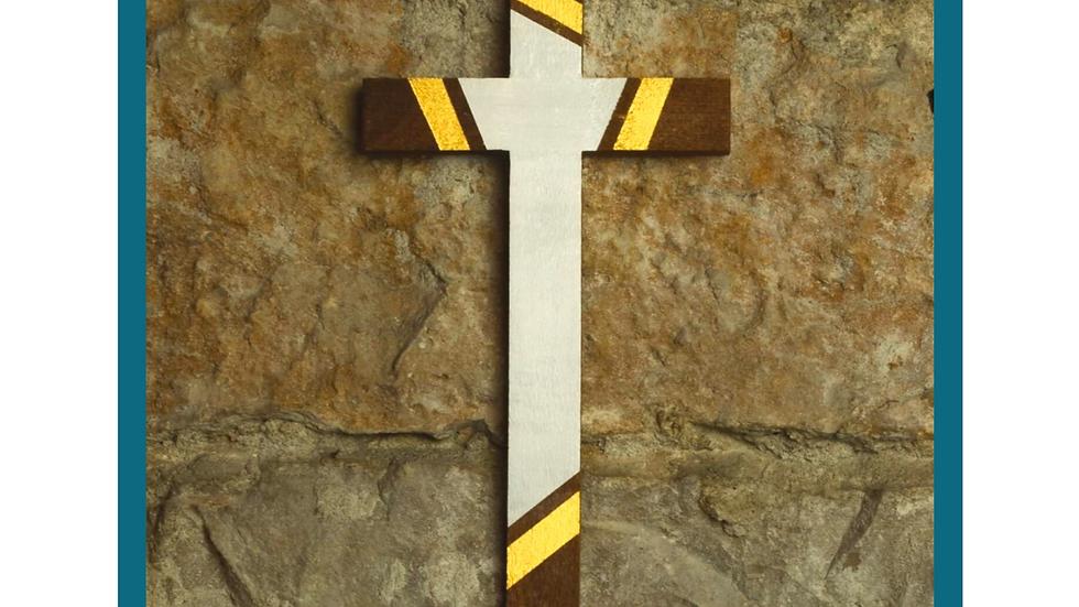 Croix de la Résurrection - bois peint