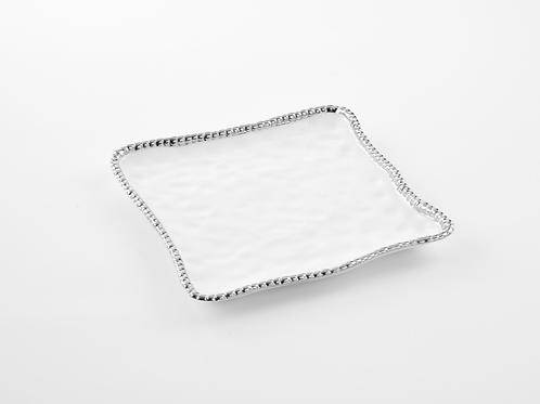 Porcelain square serving tray