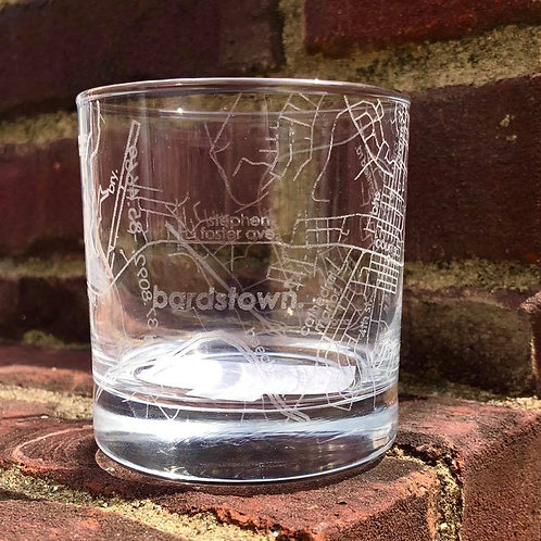 Bardstown Rocks Glass