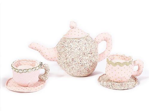 Plush Teapot and Teacups