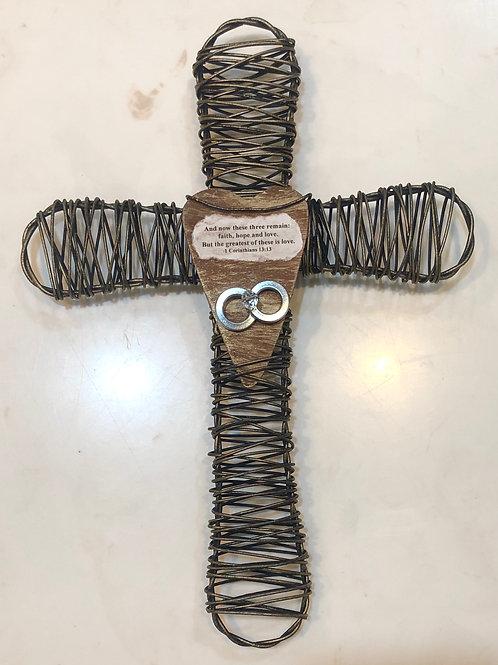 Wire Wedding Cross