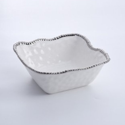 Large Square Salad Bowl