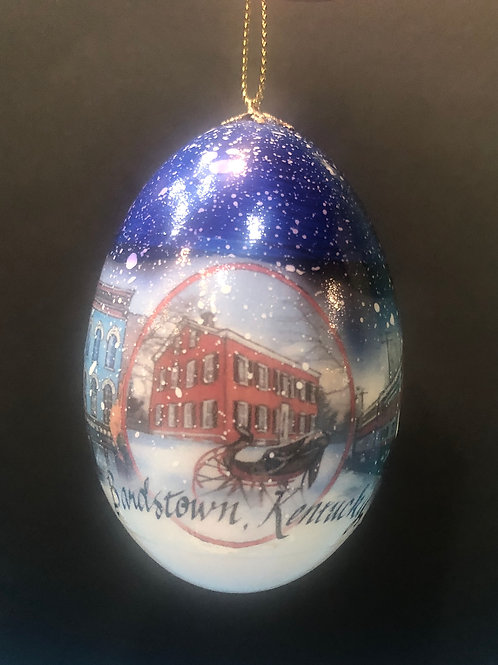 Bardstown Goose Egg Christmas Ornament