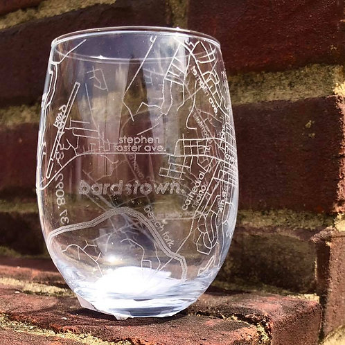 Bardstown Stemless Wine Glass
