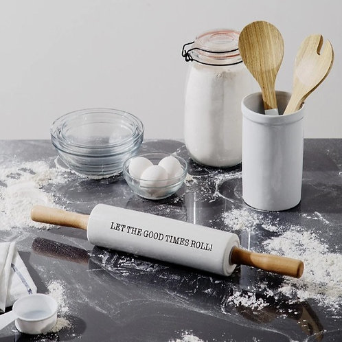 'Let The Good Times Roll' Rolling Pin