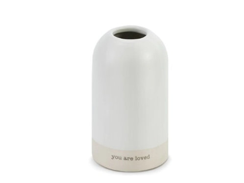 You are loved vase