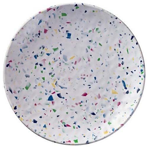 Rainbow Terrazzo Plates S/2