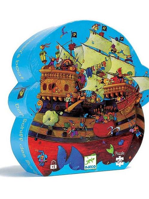 Silhouette Barbarossa's Boat Puzzle