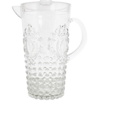 Jewel clear pitcher