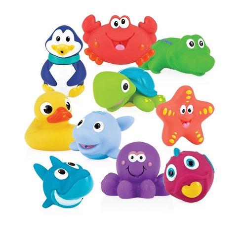 Little squirts bath toys