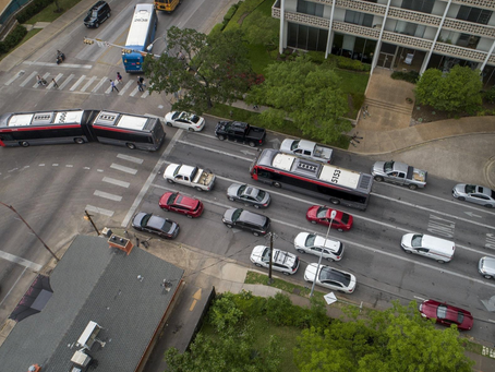 New bus lane plan seeks to ease congestion near the Drag