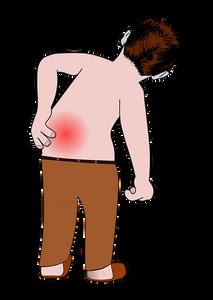 Rückenschmerz, chronischer Schmerz, Hilfe, Behandlung, Chinesische Medizin , Akupunktur