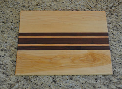 Maple Oak Walnut Cutting Board