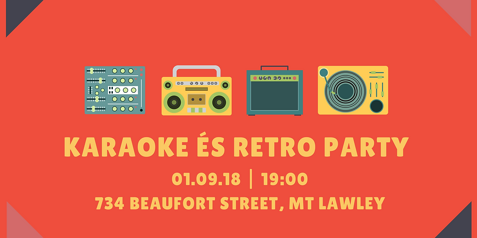Blast from the Past - Karaoke és Retro Party