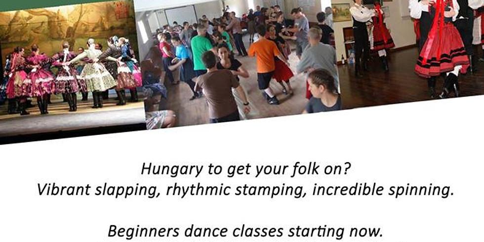 Hungarian Dance Class - Keszkenö Tánc Tanitás