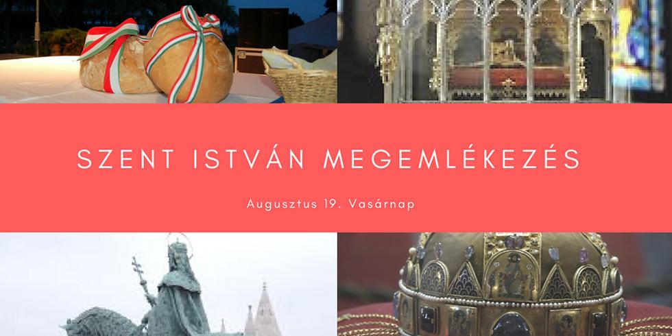 Szent István megemlékezés / St Steven Day