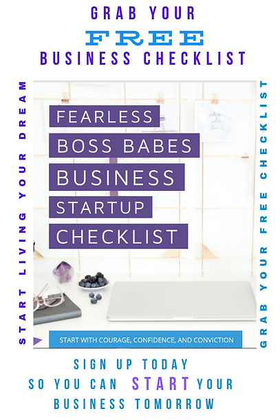 FBB Free Business Checklist Front Page O