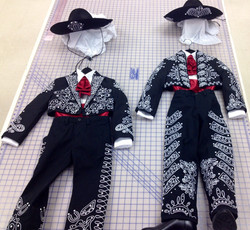 Embroidered Costumes