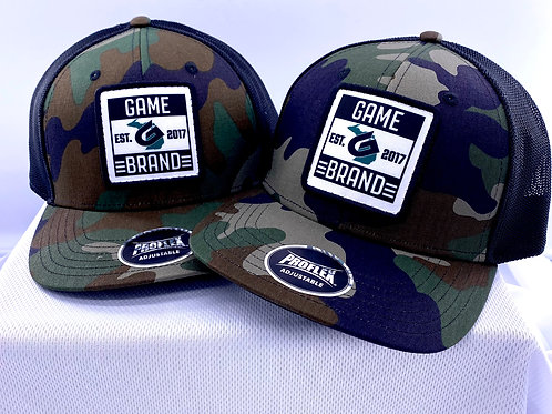 GBRAND PATCH HAT camo