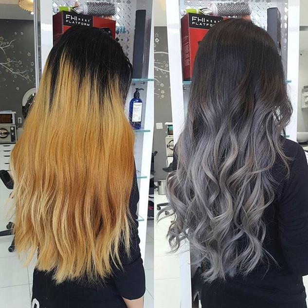 Color correction 💕__#silverfox#silverom