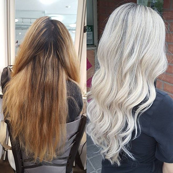 Ice queen 💎💎_Before and after transfor