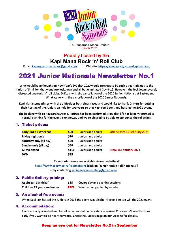 2021 Junior Nats Newsletter PDF No.1 202