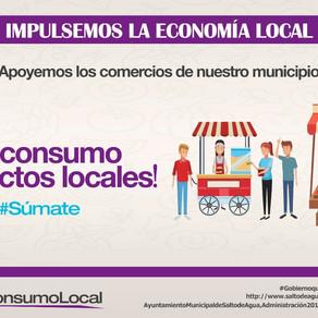 Apoyemos los comercios locales, consumiendo productos de la región.