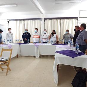 Se realiza 3ra Sesión Ordinaria por el Consejo Municipal de Protección Civil