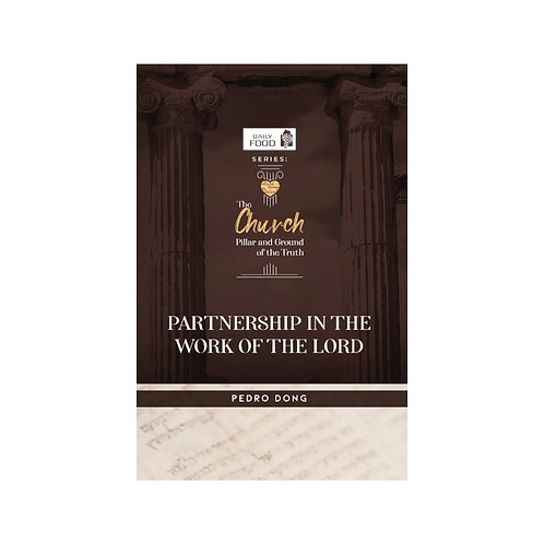 eBook - DAILY FOOD: PARTNERSHIP IN THE WORK OF THE LORD