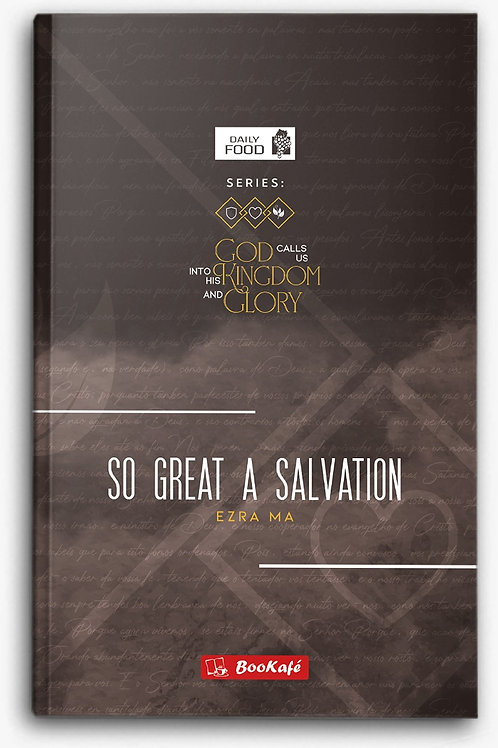 eBook - DAILY FOOD: SO GREAT A SALVATION