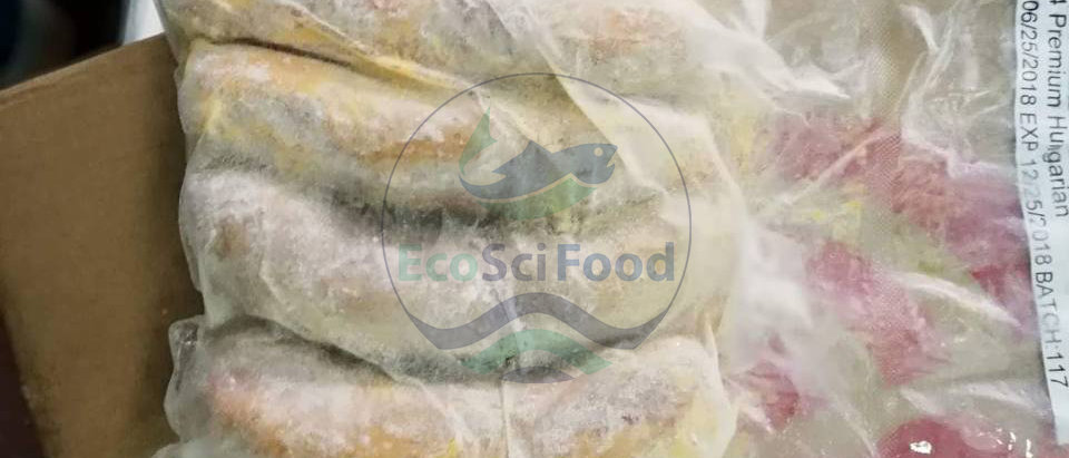 Hungarian Sausage   EcoSci Food   Frozen Seafood and Meat
