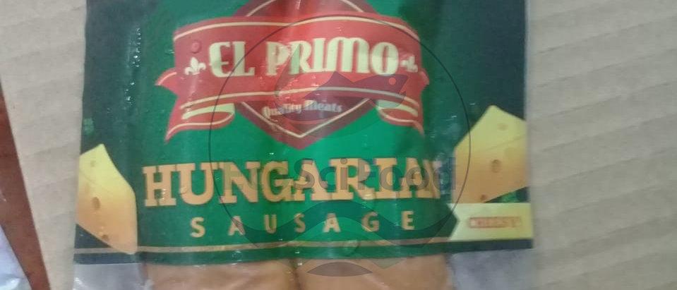 Cheesy Hungarian Sausage