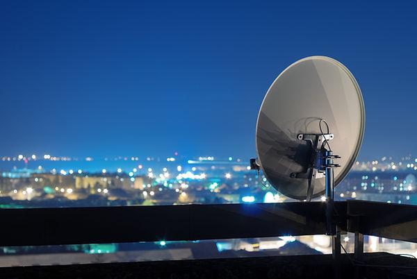 Satellite Dish Dome