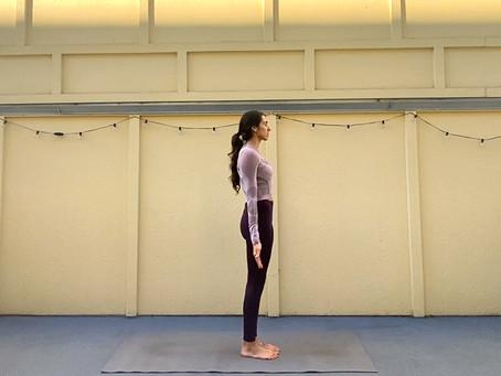 Samasthiti (Equal Standing)   Yoga Fundamentals