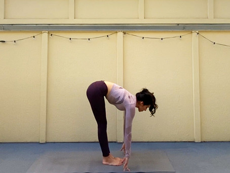 Ardha Uttansana (Half Intense Posture)   Yoga Fundamentals