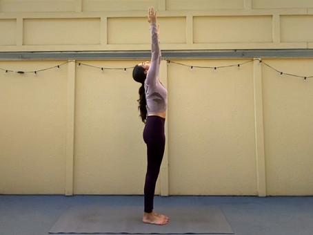 Urdhva Hastasana (Raised Hands Pose)   Yoga Fundamentals