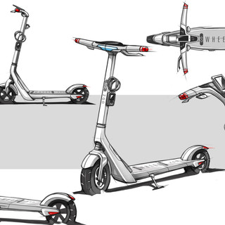 Electric Scooter Concept Design