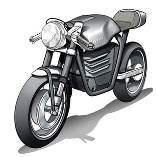 Electric Bike Concept Design image 1 – Designed by vehicle designers at Sebbahi Solutions Ltd.