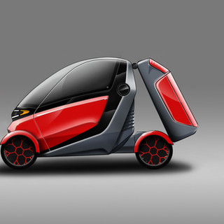 Compact Vehicle Concept – Car Design image 2