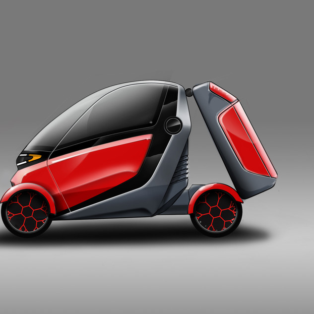 Compact Vehicle Concept – Car Design image 2