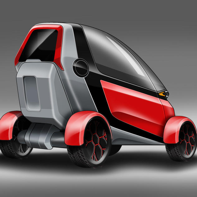Compact Vehicle Concept – Car Design image 3