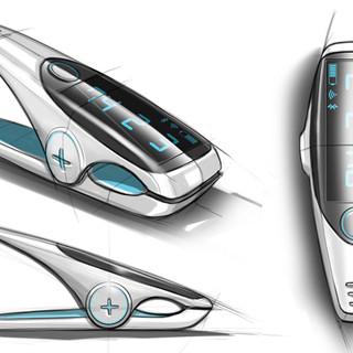 Smart clip concept image 1 – Product design by Sebbahi Solutions Ltd.
